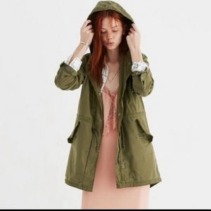 Madewell Tilden military Green jacket